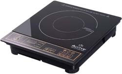 4. Duxtop 1800W Portable Induction Cooktop Countertop Burner, Gold 8100MC