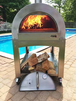 6. ilFornino Professional Series Wood Fired Pizza Oven