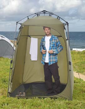 7. Lightspeed Outdoors Xtra Wide Quick Set Up Privacy Tent, Toilet, Camp Shower, and Portable