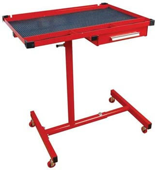 6. ATD Tools (7012 Heavy-Duty Mobile Work Table with Drawer