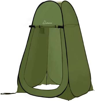 3. WolfWise Pop-up Shower Tent