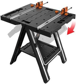 1. WORX Pegasus Multi-Function Work Table and Sawhorse