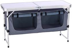 4. CampLand Outdoor Folding Table Aluminum Lightweight Height Adjustable