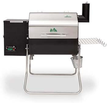 3. Green Mountain Davy Crockett WI-Fi Control Portable Wood Pellet Grill