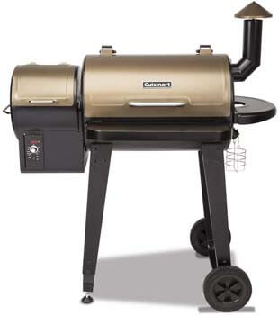 8. Cuisinart CPG-4000 Wood BBQ Grill & Smoker Pellet Grill and Smoker