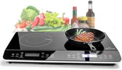 5. Duxtop 9620LS LCD Portable Double Induction Cooktop