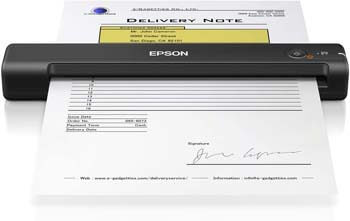 5. Epson WorkForce ES-50 Portable Sheet-fed Document Scanner for PC and Mac
