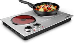6. CUSIMAX 1800W Ceramic Electric Hot Plate
