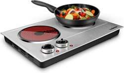 6. CUSIMAX 1800W Ceramic Electric Hot Plate