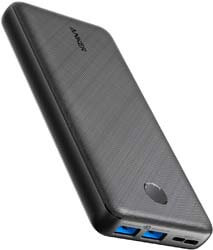4. Anker Portable Charger, PowerCore Essential 20000mAh Power Bank