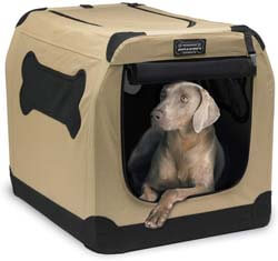 3. Petnation Port-A-Crate Indoor and Outdoor Home for Pets