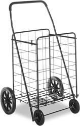 3. Whitmor Deluxe Utility Cart, Extra Large, Black
