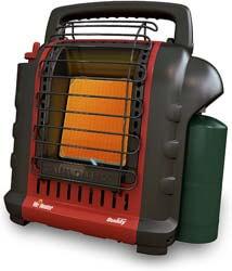 5. Mr. Heater F232025 MH9BX Buddy 4,000-9,000-BTU Portable Radiant Heater