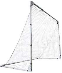10. Lifetime 90046 Soccer Goal with Adjustable Height and Width