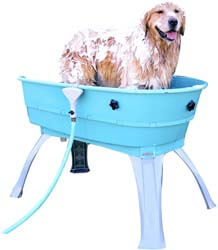 5. Booster Bath Elevated Pet Bathing Large