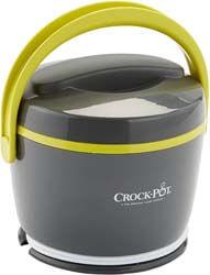 2. Crock-PotLunch CrockFood Warmer, Grey & Lime
