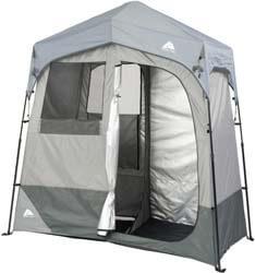 8. Ozark Trail Instant 2-Room Shower/Changing Shelter Outdoor
