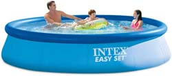 8. Intex 12ft X 30in Easy Set Pool Set with Filter Pump
