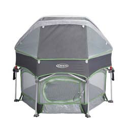9. Graco Pack 'n Play Sport Outdoor Playard with Domed Canopy with UV Protection, Parkside