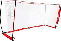 2. PowerNet Soccer Goal Portable Net Collapsible Metal Base