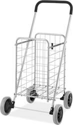 6. Whitmor Utility Durable Folding Design for Easy Storage Shopping Cart
