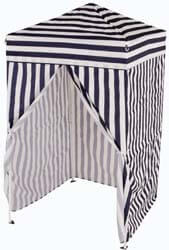 2. Impact Canopy 4' x 4' Portable Dressing Room, Pop Up Portable Changing Room, Navy Blue / White