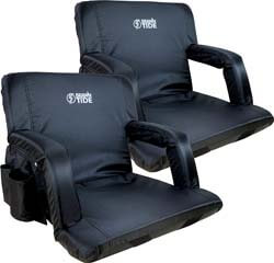 9. Brawntide Wide Stadium Seat Chair