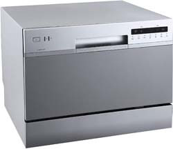 5. EdgeStar DWP62SV 6 Place Setting Energy Star Rated Portable Countertop Dishwasher
