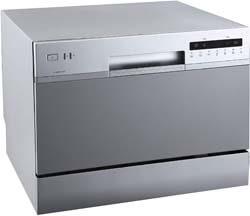 5. EdgeStar DWP62SV 6 Place Setting Energy Star Rated Portable Countertop Dishwasher