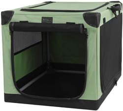 2. Petsfit Portable Soft Collapsible Dog Crate for Indoor and Outdoor Use