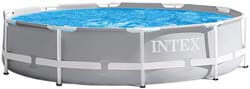 5. Intex 10ft X 30in Prism Frame Pool Set with Filter Pump