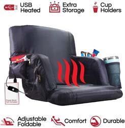 3. POP Design the Hot Seat, Heated Stadium Bleacher Seat
