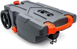 1. Camco Rhino Heavy Duty 36 Gallon Portable Waste Holding Hose