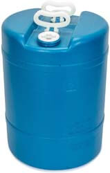 8. Legacy Premium Food Storage 15 Gallon Emergency Water Storage Barrel