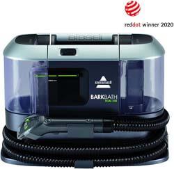 1. Bissell BARKBATH Dual Use Portable Dog Bath & Deep Cleaner