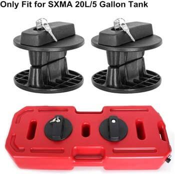 10. SXMA Fuel Tank Cans Spare 5 Gallon Portable Fuel Oil Petrol Diesel Storage Gas Tank