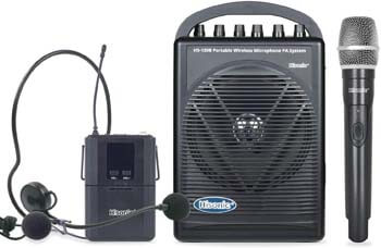8. Hisonic HS120B Rechargeable & Portable PA (Public Address) System