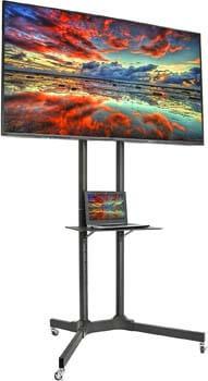 1. VIVO Mobile TV Cart for 32-65 inch LCD LED Plasma Flat Panel Screen TVs