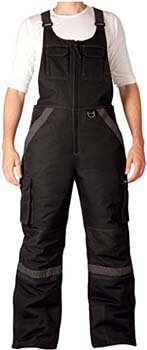 2. Arctix Men's Overalls Tundra Bib with Added Visibility
