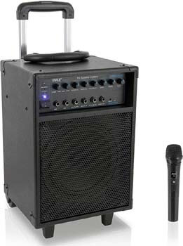 2. Pyle Wireless Portable PA System