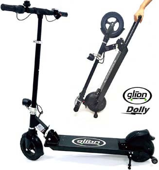 6. Glion Dolly Foldable Lightweight Adult Electric Scooter UL Certified