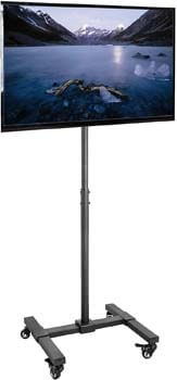 5. VIVO Mobile TV Display Stand for 13 to 42 inch LED LCD Flat Panel Screens