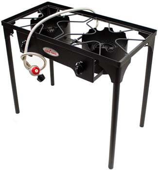 10. Gas One Two Burner Propane Stove Outdoor High-pressure Propane 2 Burner