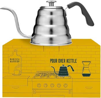 2. Pour Over Kettle with Thermometer