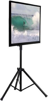 6. Mount-It! TV Tripod Floor Stand | Portable Tilting TV Stand
