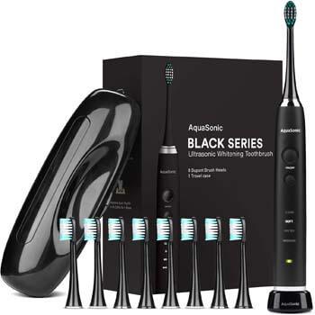 2. AquaSonic Black Series Ultra Whitening Toothbrush