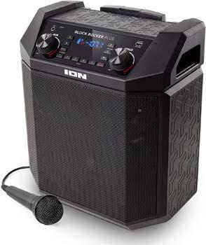 1. ION Audio Block Rocker Plus | 100W Portable Speaker