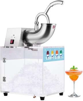 4. VIVOHOME Electric Dual Blades Commercial Ice Crusher Shaver