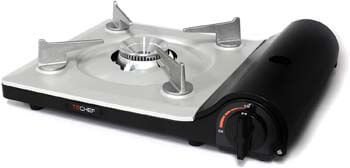 3. TECHEF - AGNI Portable Butane Gas Stove Burner, Made in Korea