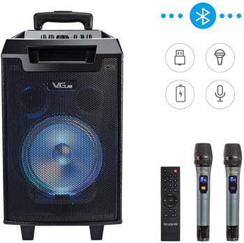 5. VeGue Karaoke Machine for Kids and Adults